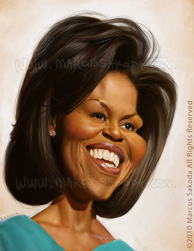 Caricature of The First Lady, 2010