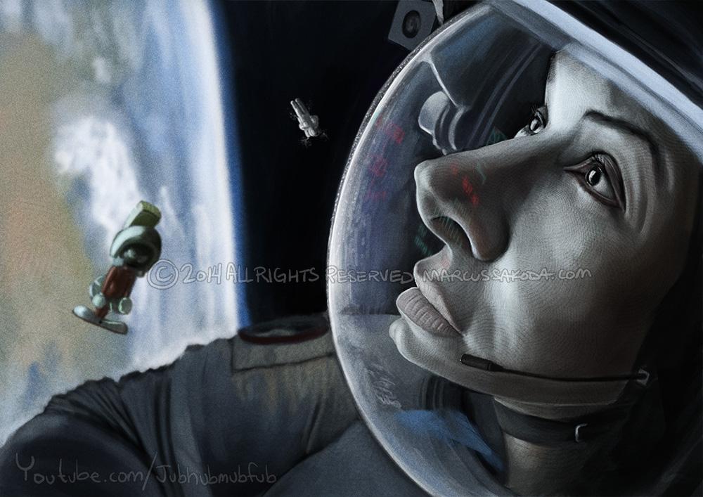 Sandra Bullock, Gravity, 2014