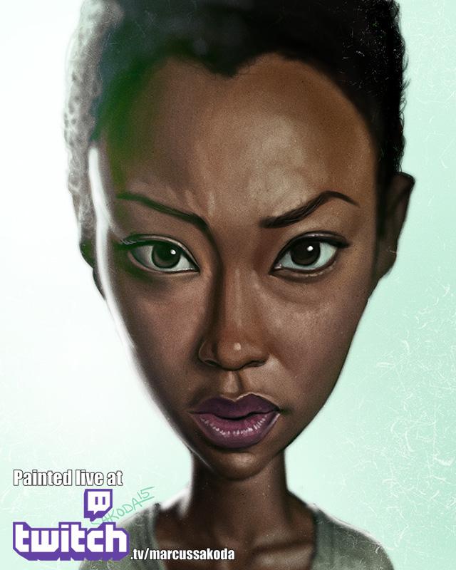 Sasha Caricature
