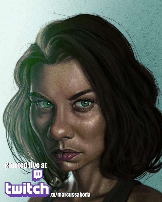 Maggie Caricature