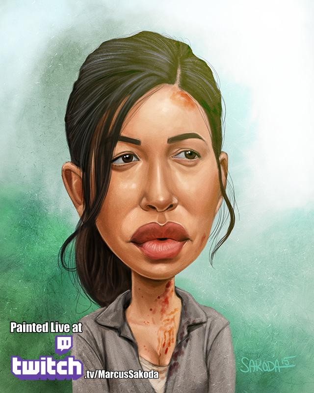 Rosita Caricature