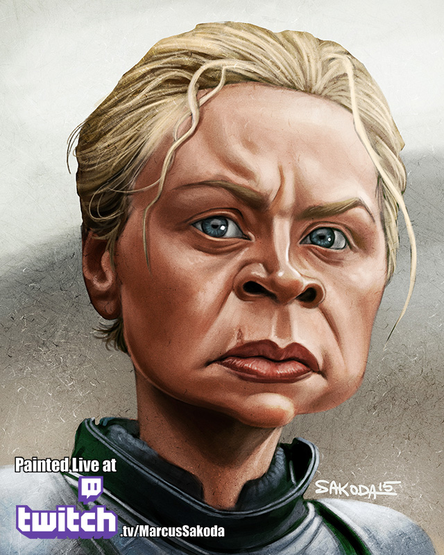 Brienne of Tarth Caricature