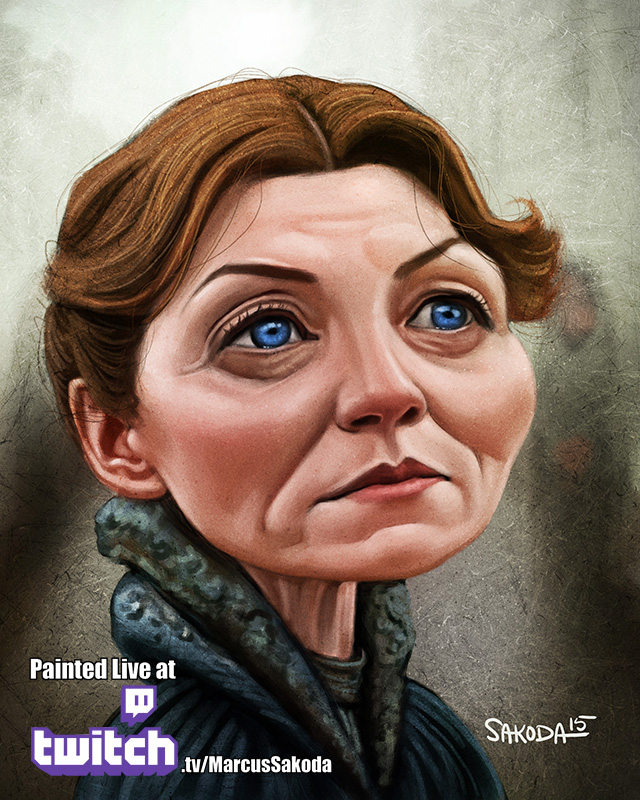 Catelyn Stark Caricature