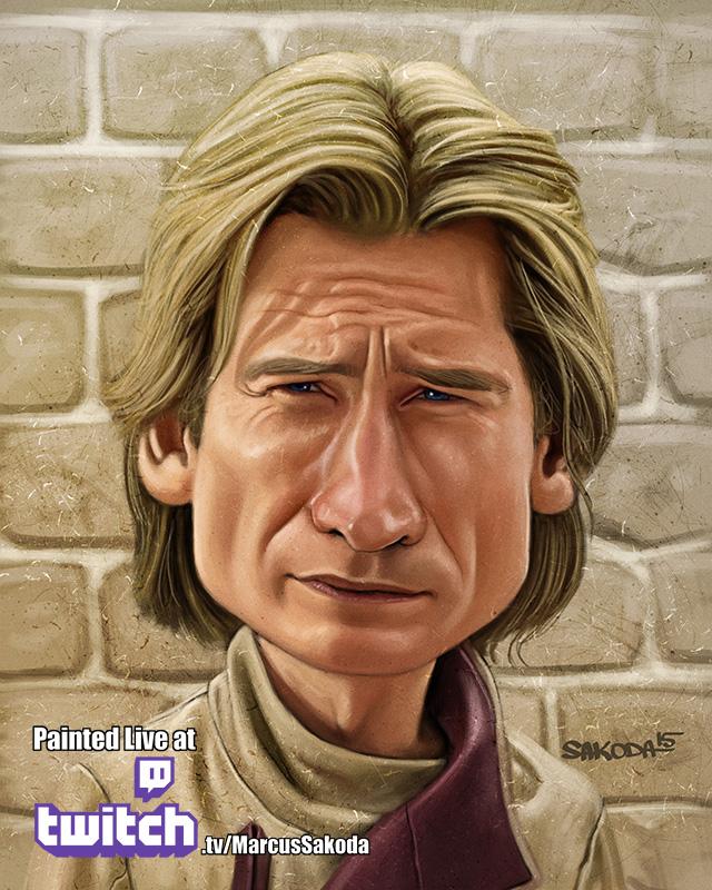 Jamie Lannister Caricature