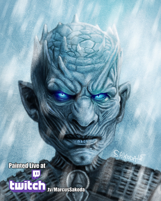 Night's King Caricature