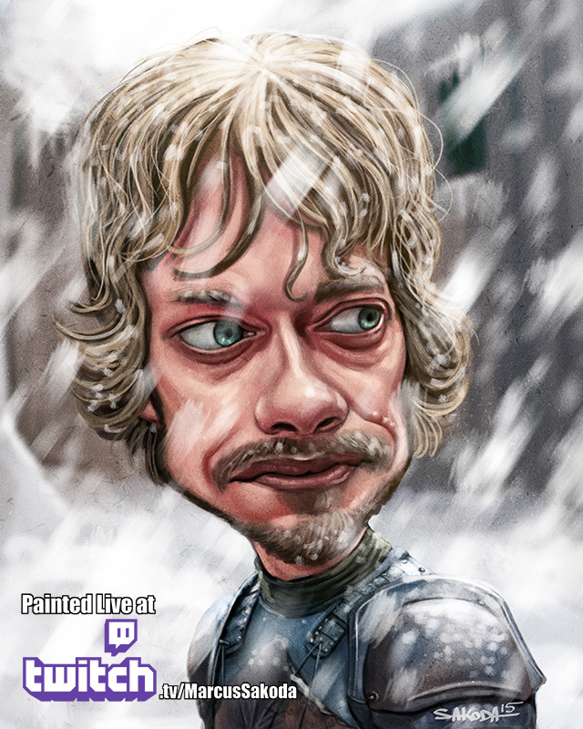 Theon Greyjoy Caricature