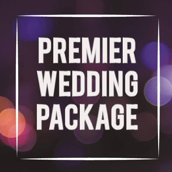 Starting at $995, our Premier Wedding Package includes everything you'll need to make your wedding day unforgettable.