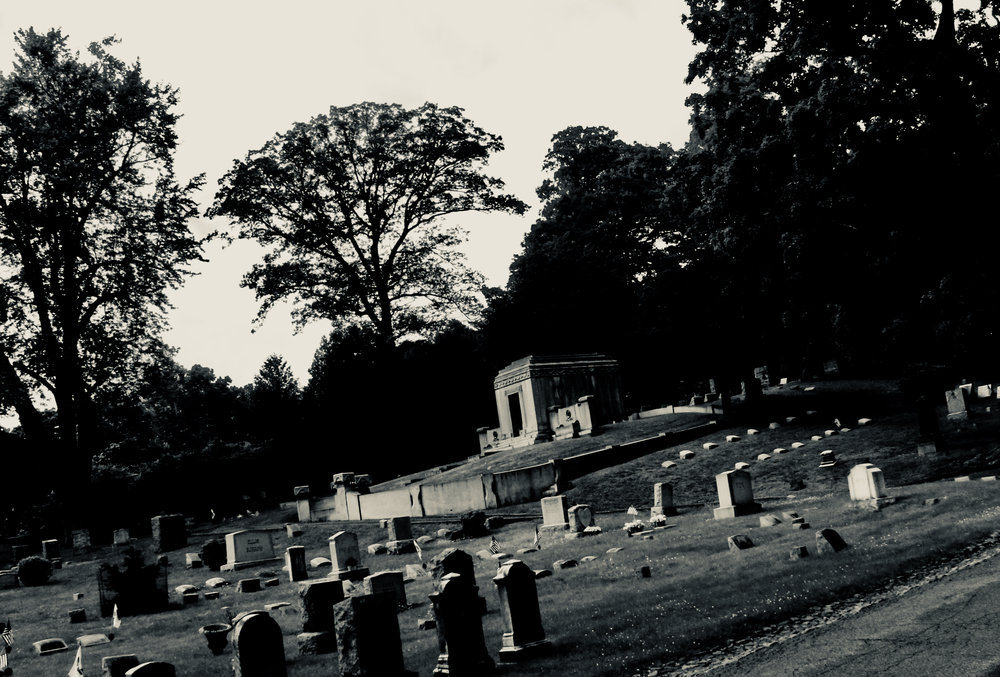 Cemetery. Large Crypt.