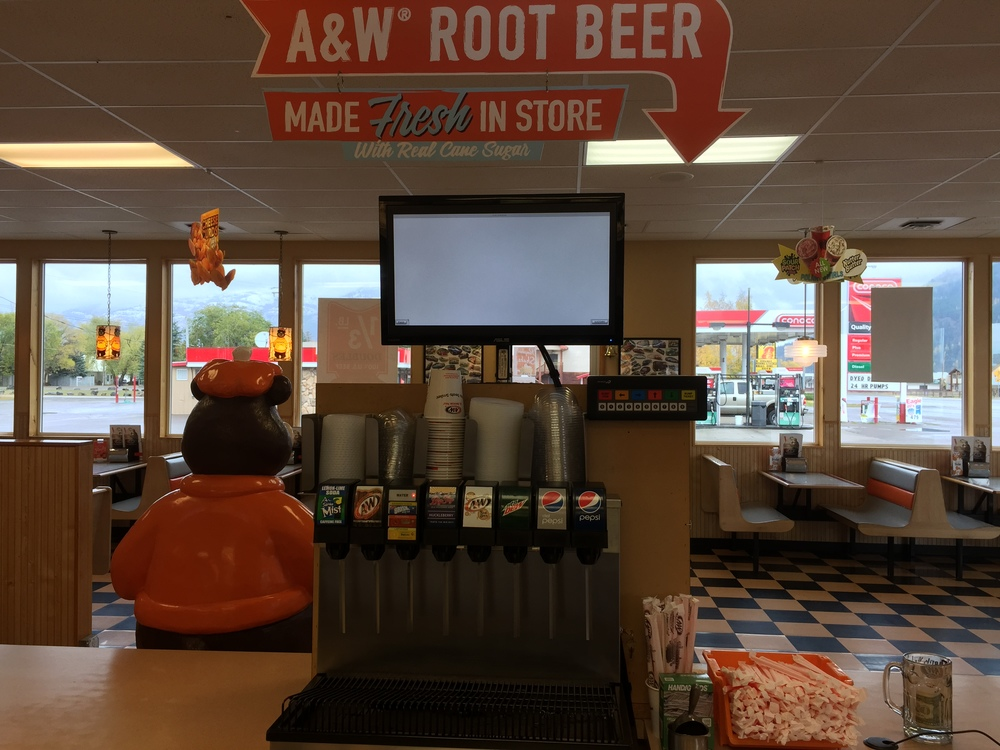 A&W All American Food/Columbia Falls Heights, Montana