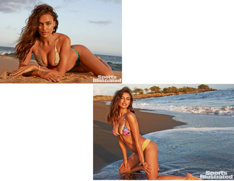 Irina Shayk photographed by Yu Tsui in SAN LORENZO and MAUI GIRL BY DEBBIE WILSON