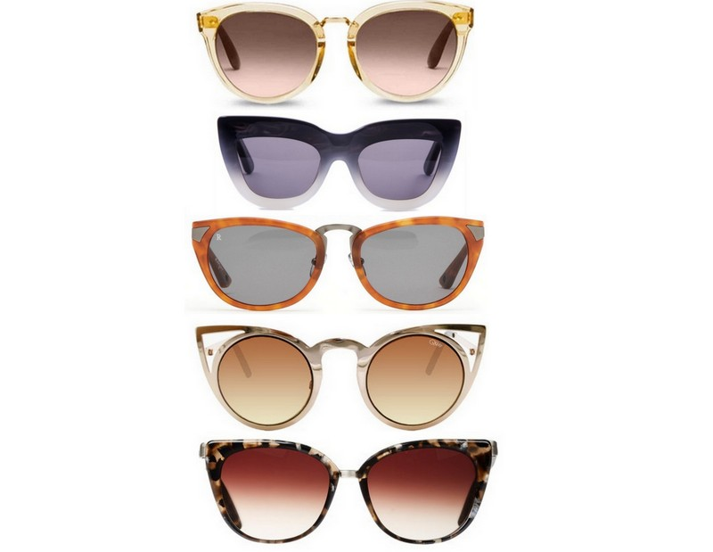 Cat Eye Sunglasses via TheEditHawaii.com