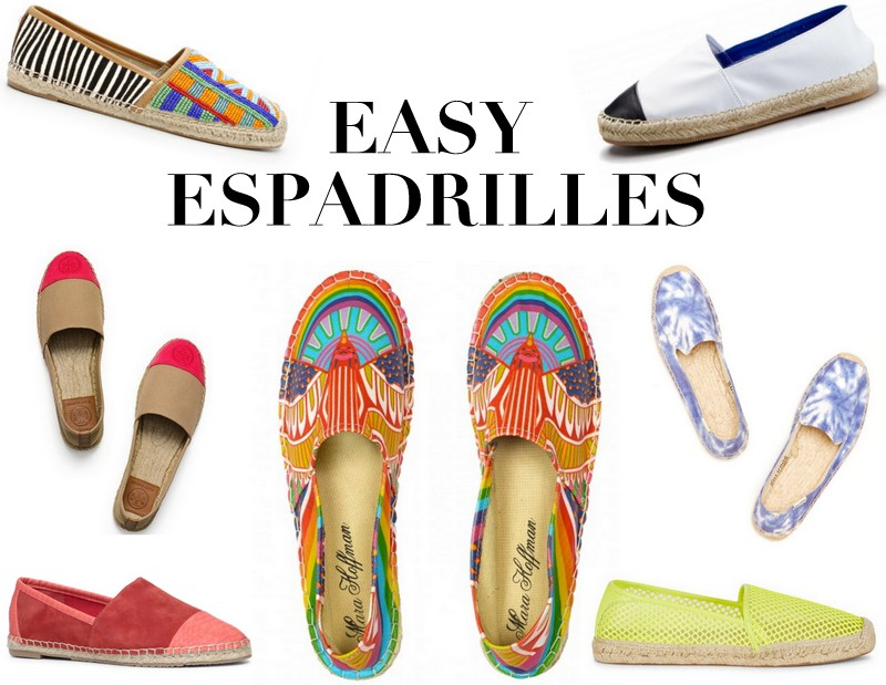 TRENDS: Easy Espadrilles via TheEditHawaii.com