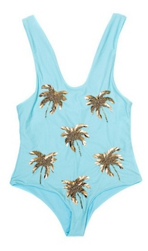 Beach Riot Golden Coconut One-Piece via BIKINI BIRD