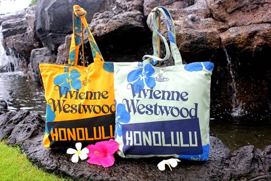 Exclusive Vivienne Westwood Tote, gift with purchase on Earth Day // TheEditHawaii.com