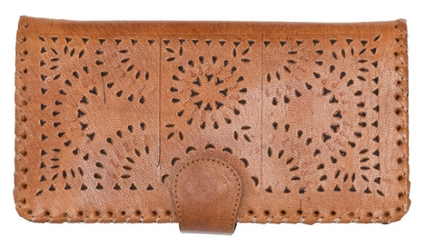 CLEOBELLA MEXICANA WALLET, $138, VIA GINGER & KOI