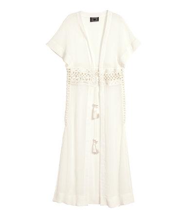 H&M KRINKLED KAFTAN, $69.95