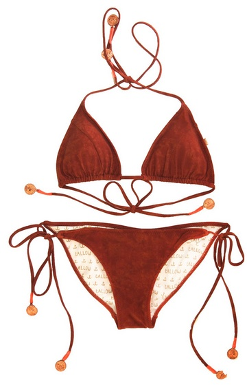 TALLOW NOSTALGIA BIKINI, $123, VIA THE SEA CLOSET