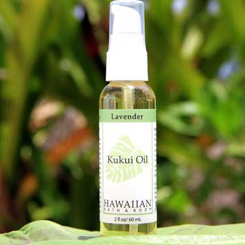 HAWAIIAN BATH & BODY LAVENDER KUKUI OIL