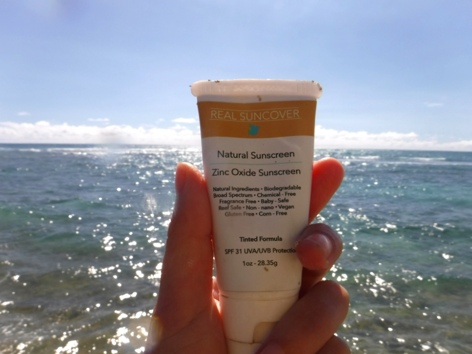 BEAUTY: Real Suncover, a Hawaii-based natural sunscreen brand // TheEdithHawaii.com