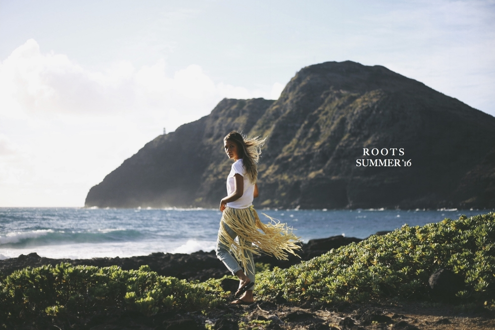 Roam Hawaii's ROOTS collection, summer 2016 // TheEditHawaii.com
