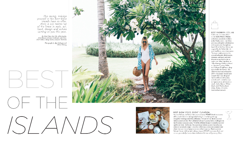 MODERN LUXURY HAWAII: BEST OF THE ISLANDS 2018 - Featuring the best in fashion, skincare, wedding planners & more.