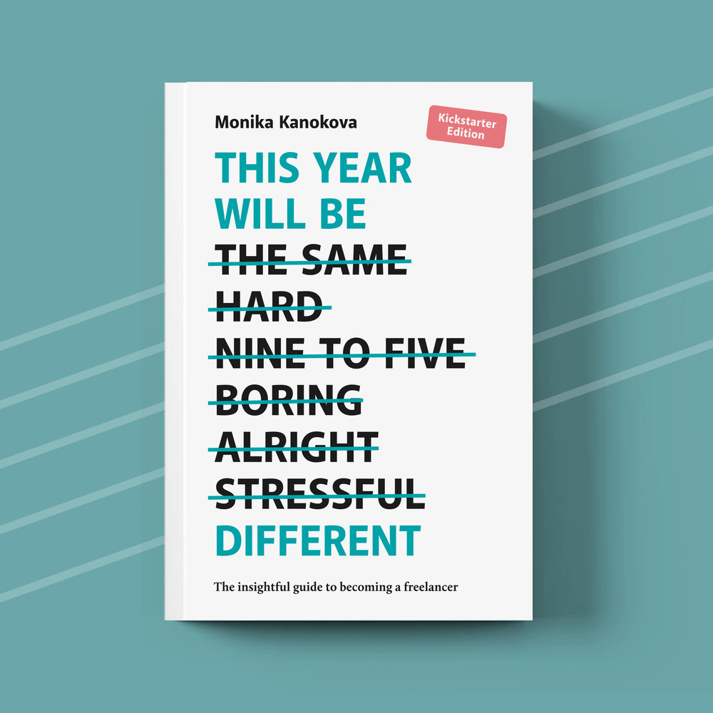 THIS YEAR WILL BE DIFFERENT - A collection of interviews, stories, tips and tricks to help wannabe freelancers figure out what to think of when setting up a solo-preneur business. An audio version is available on Skillshare.