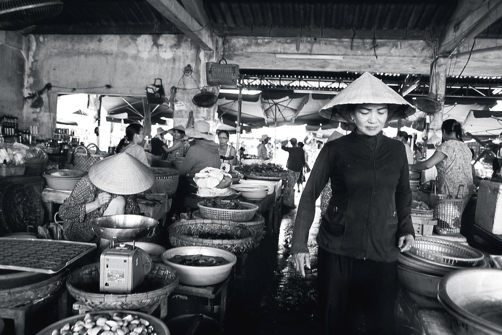 Madame of the market, Hoi An, Vietnam 2013.
