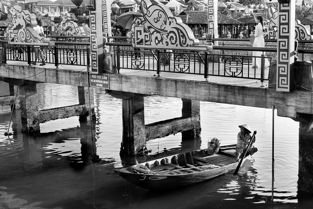 Under the bridge, Hoi An, Vietnam 2013.