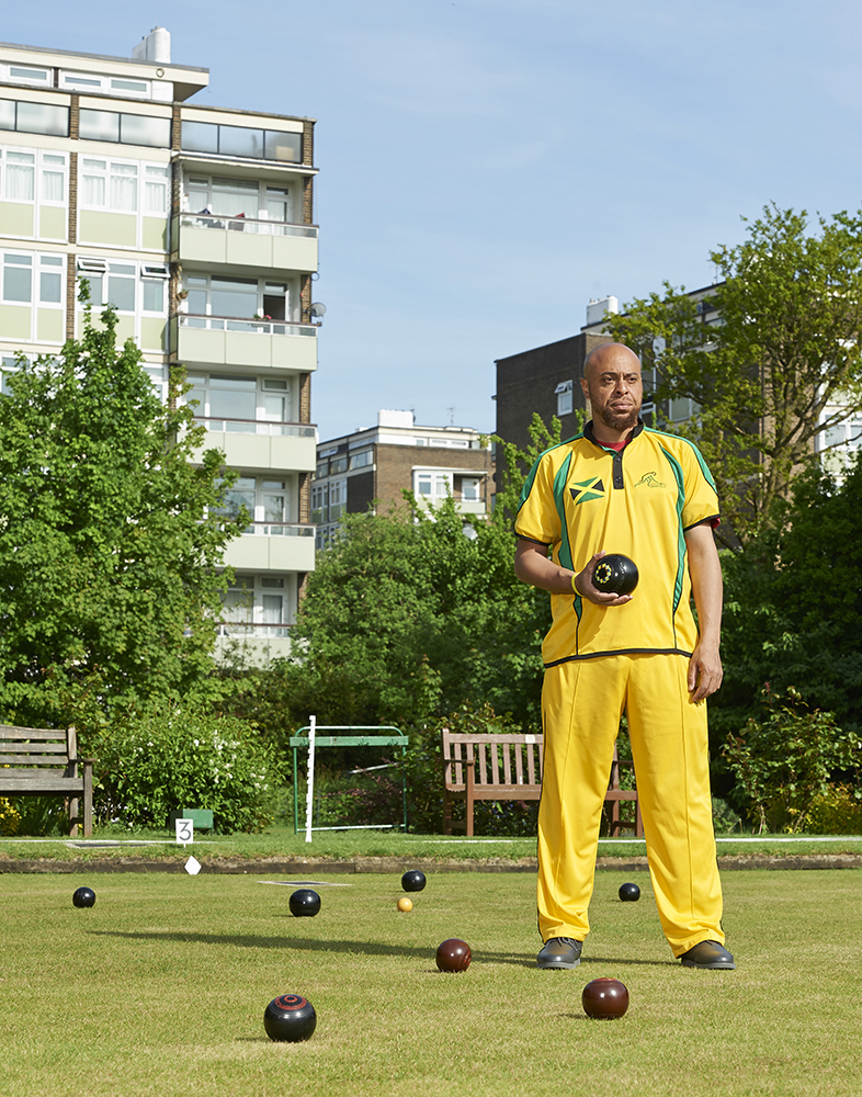 Andrew Newell, who is trying his best to get Bowls Jamaica to the Olympics! He has got as far as the Commonwealth Games. I photographed him for my Downtime project in 2016.