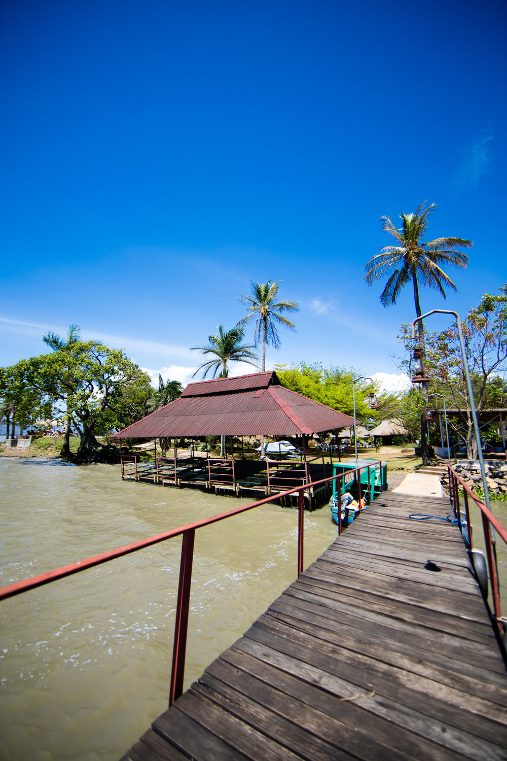 Pier at Kiboko Bay Resort