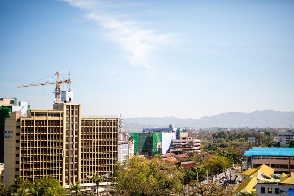Cityscape of Kisumu