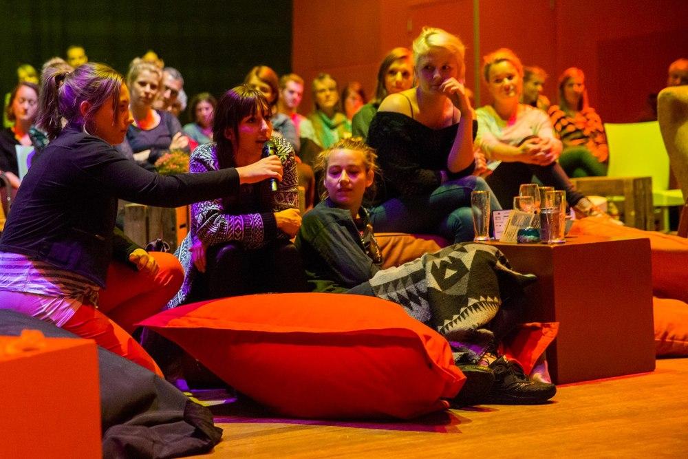 mei 2015 - Film for Thougt Festival in Nijmegen ( foto: Marjolein van Diejen )