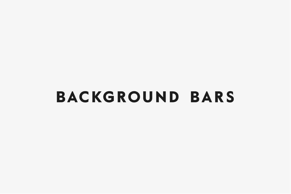 Background Bars