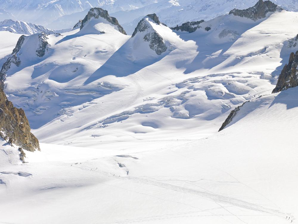 Vallée Blanche, Chamonix, France
