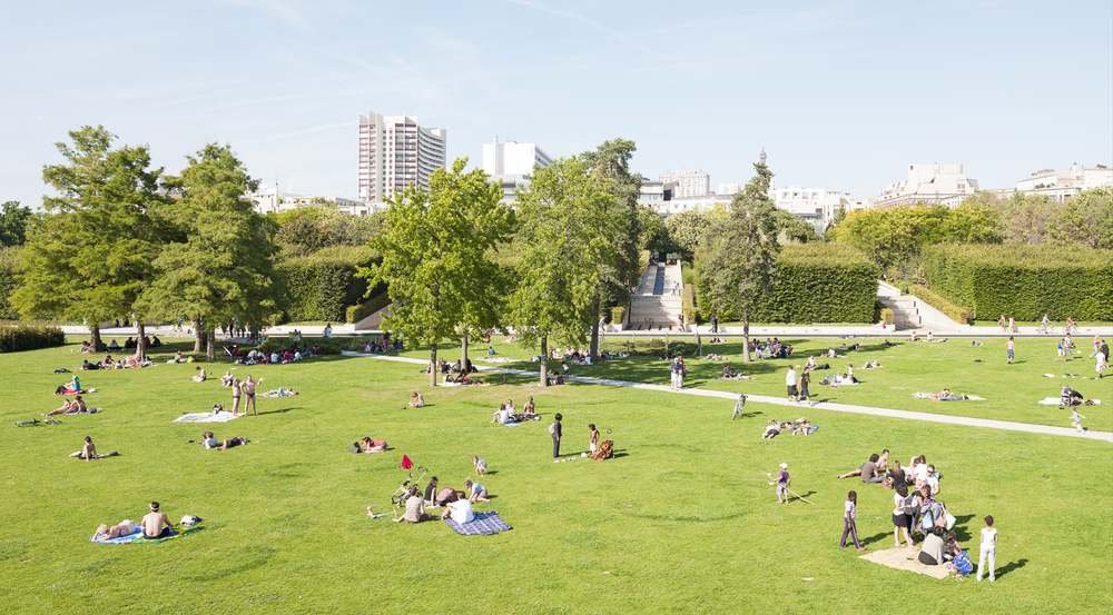 Parc André-Citroën, Paris, France