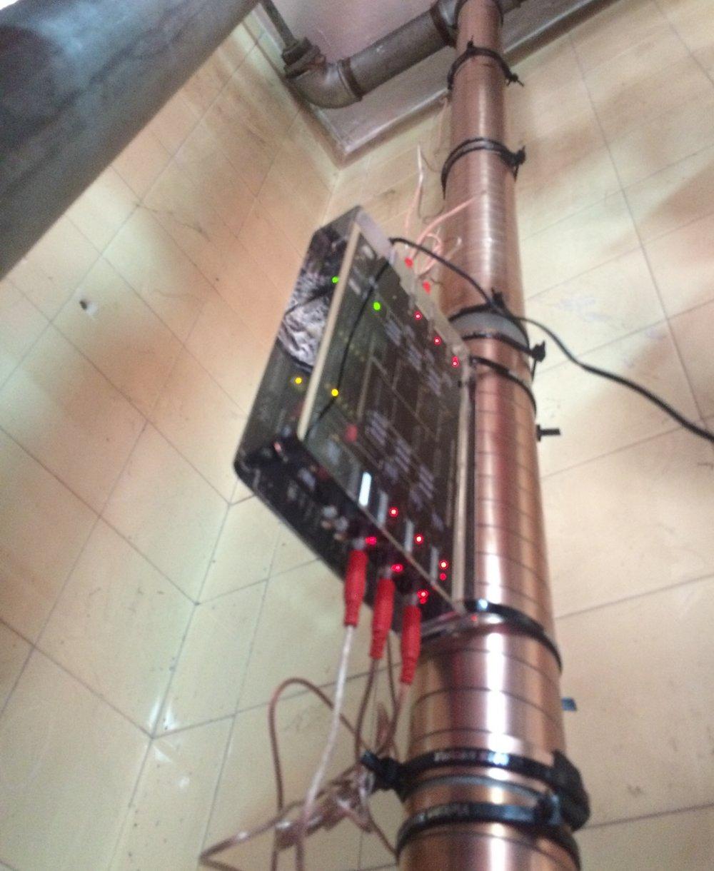 Vulcan S100 postavljen na glavnom dovodu vode