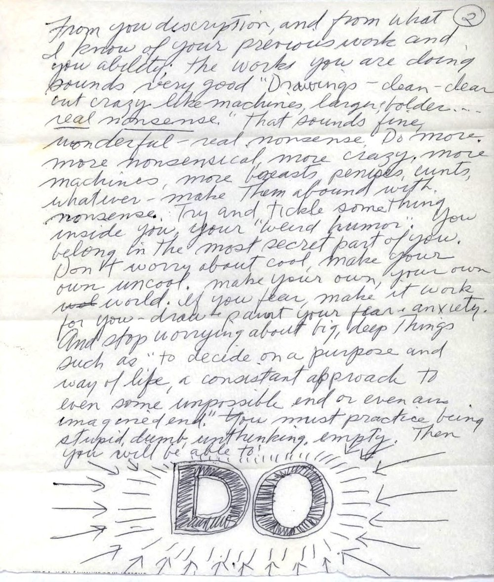 From the Lewitt Collection via www.brainpickings.org