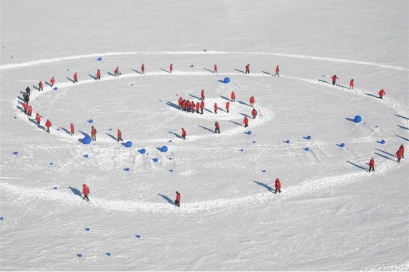 'Stellar Axis: Antarctica' Lita Albuquerque, 2006