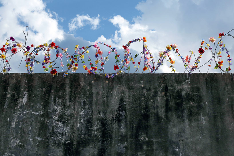 Artwork by Icy and Sot, 'imagine a world without borders'