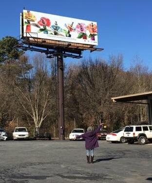 Billboard install 1/2015