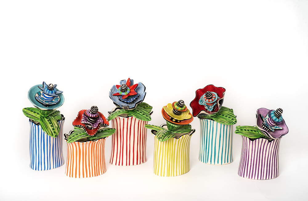 Short striped vases:flowers web.jpg