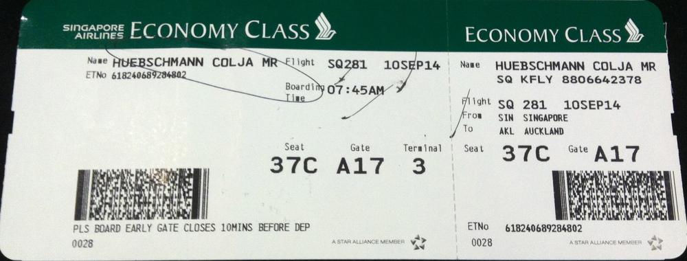my boarding pass =)