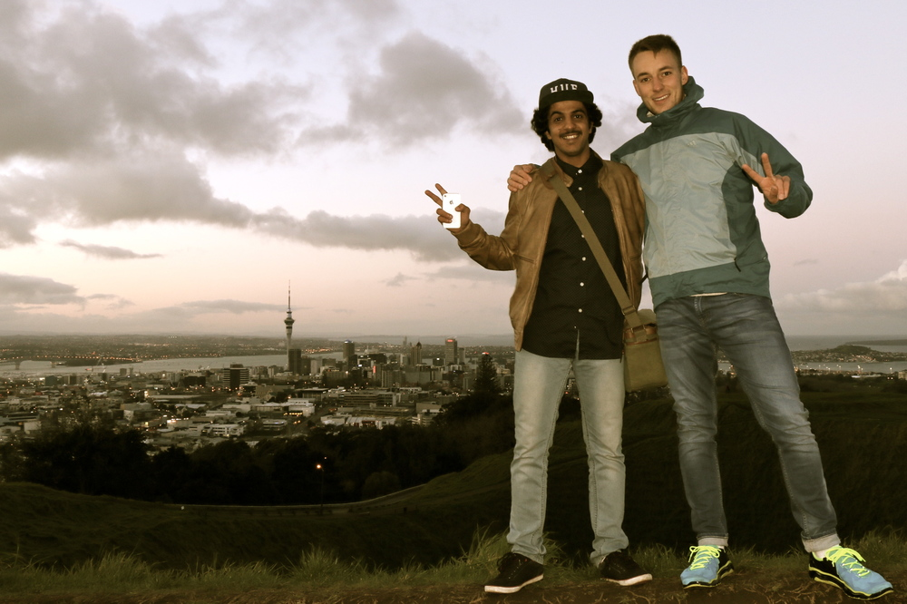 Mt Eden (196m)  -  Salim and Me