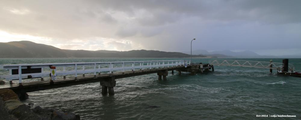 Pier in Opononi