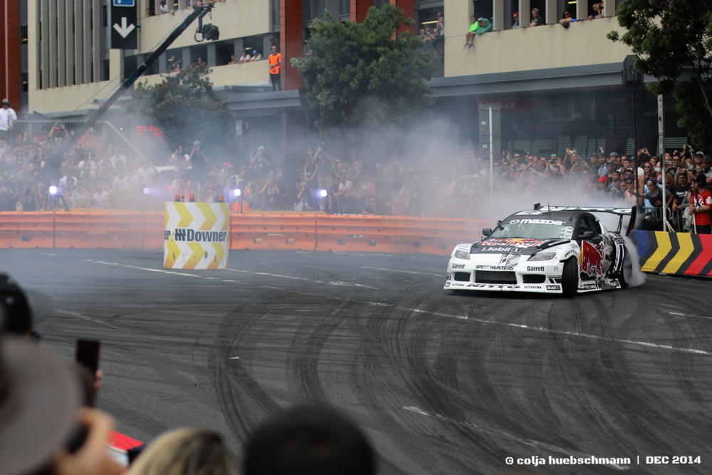 Redbull driftshift race - quay st.
