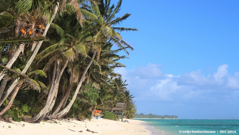 Lagoon of Rarotonga