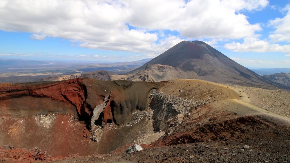 Mt. Ngauruhoe (Mt Doom in Lord of the rings)