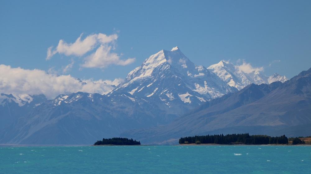 Lake Pukaki & Mout Cook