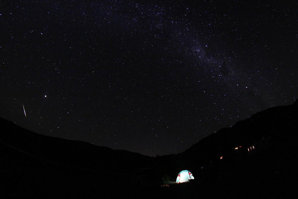 starry sky over Marlborough