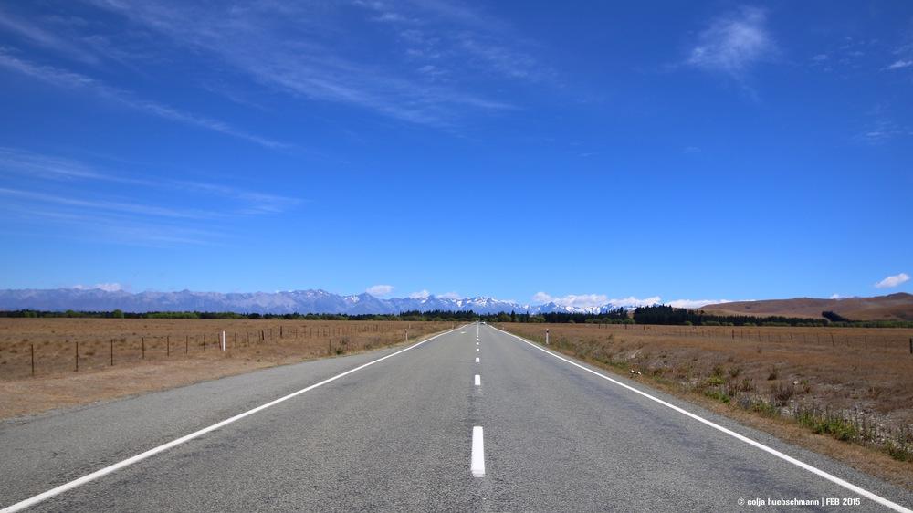 SH8 to Lake Tekapo